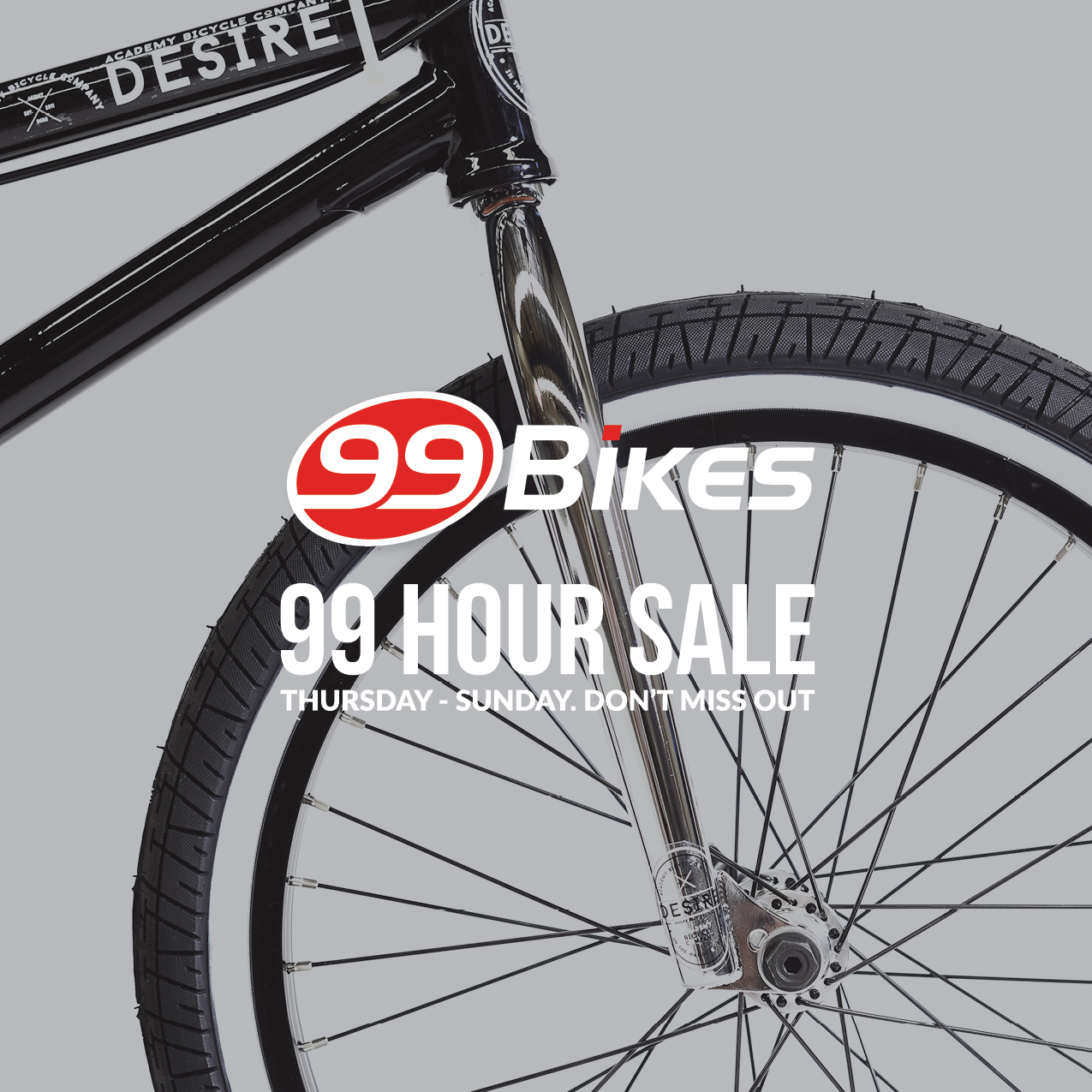 Academy BMX 99 Hour Sale At Bikes